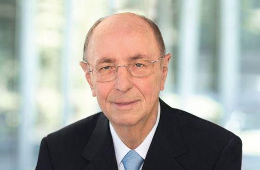 Berthold Leibinger tot