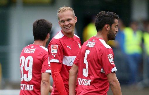 VfB ballert, Abdellaoue verletzt sich