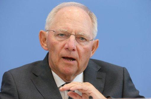 Schäuble will Briefkastenfirmen durchleuchten
