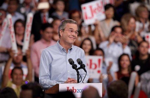 Jeb Bush legt Steuererklärung offen