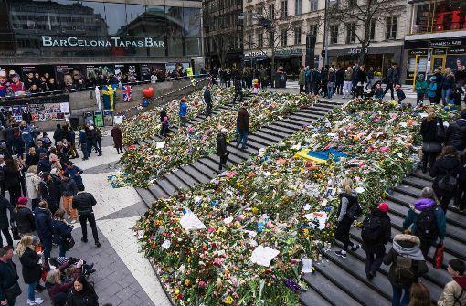 Fünftes Todesopfer nach Anschlag in Stockholm