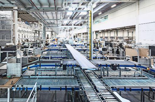 Trumpf eröffnet zentrales Logistikzentrum