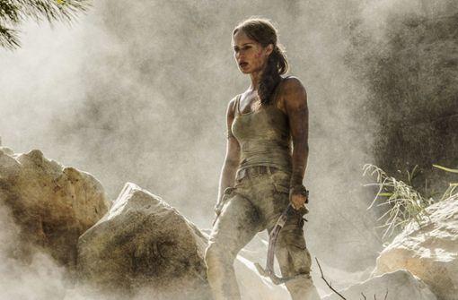 Die zähe Amazone Lara Croft ist zurück