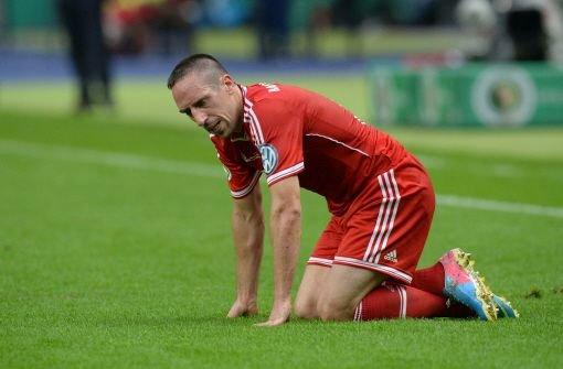 Franck Ribéry vom FC Bayern München ist wieder einsatzbereit.  Foto: dpa