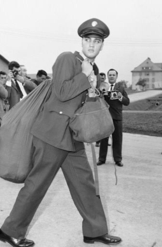 Priscilla wächst im texanischen Austin auf, 1959 wird ihr Stiefvater nach Deutschland versetzt. Gleichzeitig leistet Elvis Presley im hessischen Bad Nauheim seinen Militärdienst. Der Anziehungskraft des zehn Jahre älteren Stars kann die damals 14-Jährige nicht widerstehen. Auch Elvis war angetan. Sie sieht aus wie ein Engel, soll der King gesagt haben. Foto: AP