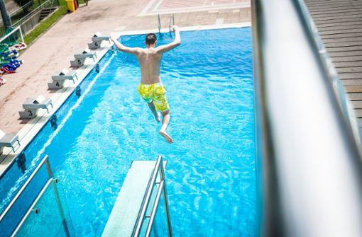 Ferienspaß ist im Inselbad nur zeitlich eingeschränkt möglich. Foto: Lichtgut/Julian Rettig