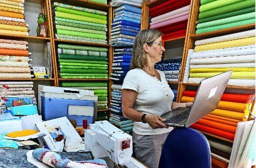 Gäufeldenerin ist mit Online-Shop für Quilts erfolgreich