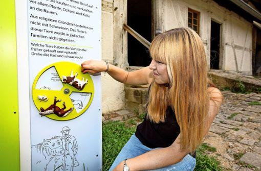Gratwanderung im Museumsdorf
