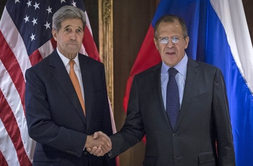 Kerry trifft russischen Amtskollegen in Wien