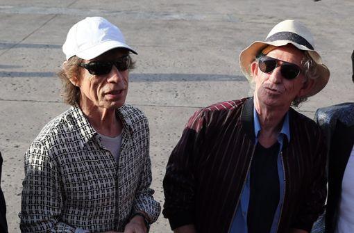 Keith Richards entschuldigt sich bei Mick Jagger