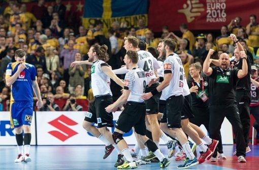 Deutschland siegt gegen Schweden
