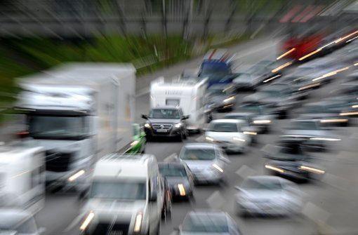 Massenkarambolage im Kappelbergtunnel im Berufsverkehr
