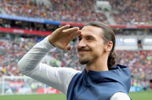 So feuert Zlatan Ibrahimovic sein Heimatland an