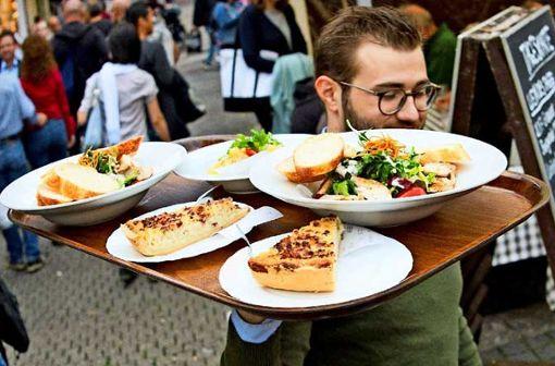 Die kulinarischen Highlights auf dem Weindorf