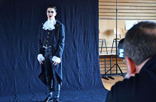 Graf Dracula im Blitzlichtgewitter