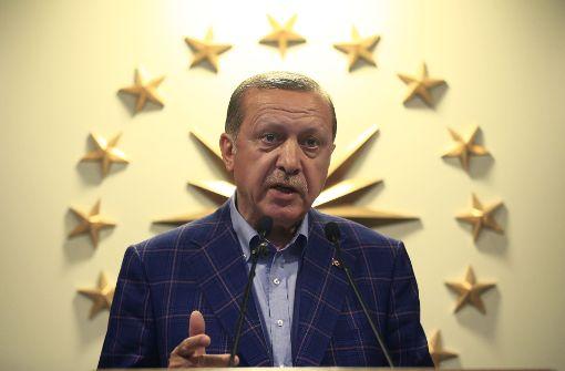 Jetzt will Erdogan die Todesstrafe