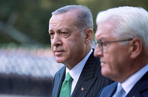 Erdogan rügt Steinmeier bei seiner Rede