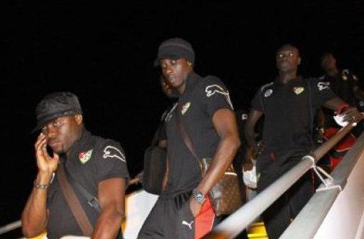 Togos Spieler  sind empört