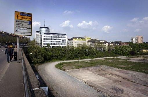 Die Stadtbahntrasse unter der Heilbronner Straße muss verlegt werden. Foto: Piechowski