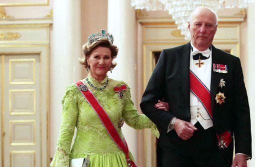 Norwegens König macht Urlaub am Bodensee