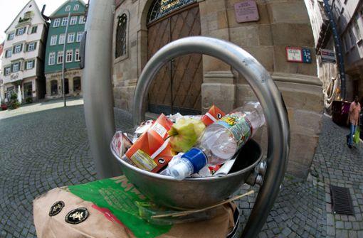 Größere Mülleimer für mehr Sauberkeit