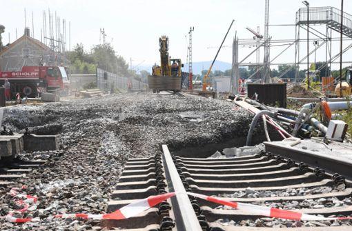Zwei Milliarden Euro Schaden wegen Rastatter Bahnsperrung