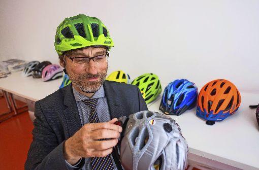 Helm schützt gerade bei schweren Verletzungen