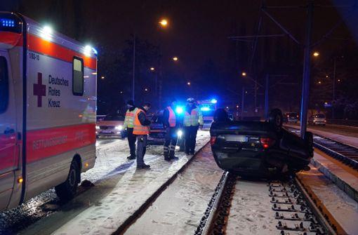 Eine Person wurde bei dem Unfall verletzt. Foto: Rosar