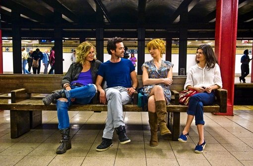 Wieder vereint: Cécile de France, Romain Duris, Kelly Reilly und Audrey Tautou (v. li.) in Beziehungsweise New York Foto: Studiocanal