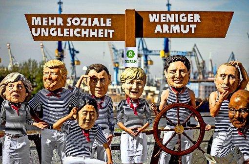 G20/ROUNDUP: Erster Deutschlandbesuch: Trump zum G20-Gipfel in Hamburg gelandet
