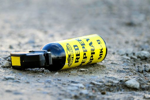 Bei einem Überfall auf einen Laden in Sillenbuch haben die Täter auch Pfefferspray eingesetzt. (Symbolfoto) Foto: Becker