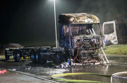 Standheizung setzt Fahrzeug in Brand
