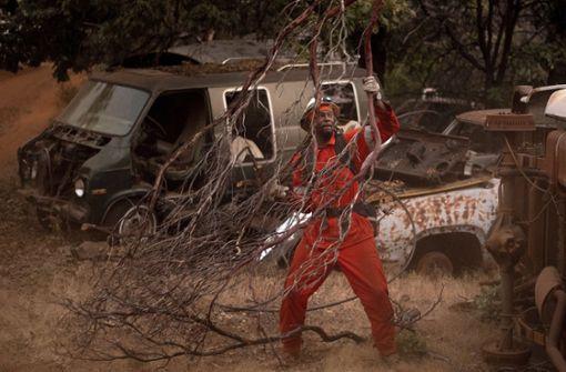 Kalifornien kämpft gegen den größten Flächenbrand der Geschichte des US-Staates. Foto: AP