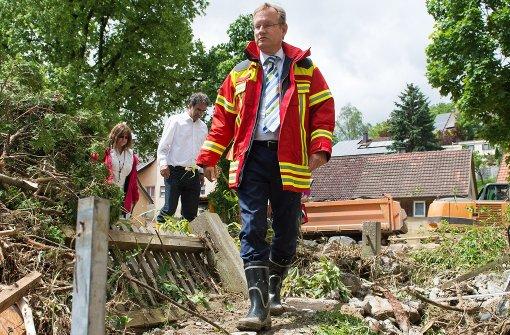 Johannes Schmalzl wird in den einstweiligen Ruhestand versetzt. Foto: dpa