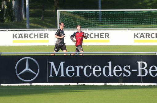 Stuttgarts neuer Gaucho gibt schon richtig Gas. Foto: Pressefoto Baumann