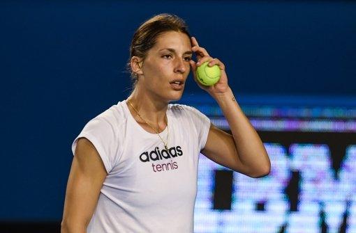 Andrea Petkovic gerät ins Grübeln