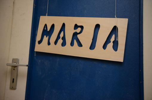 Jahrelang hing das Namensschild an Marias Zimmertür in der Wohnung der Mutter. Foto: dpa