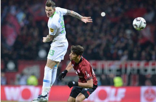 Ex-VfB-Spieler Ginczek trifft weiter – Wolfsburg setzt Aufschwung fort