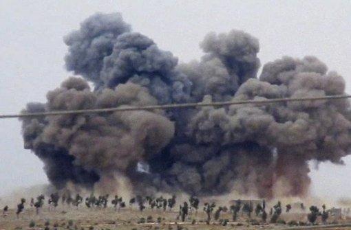 Die russischen Luftangriffe in Syrien reißen nicht ab. Foto: Hadi Al-Abdallah