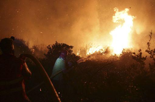 Verheerende Waldbrände fordern mehr als 30 Tote