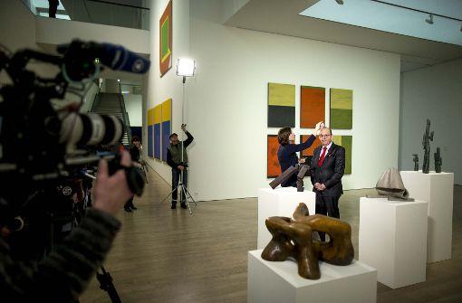 Dreharbeiten im Kunstmuseum Stuttgart
