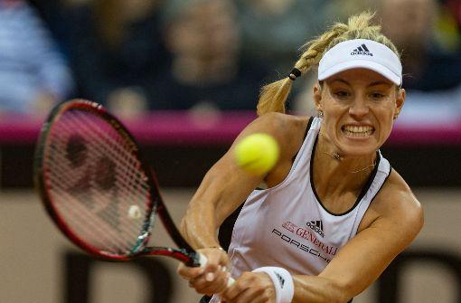 Fed-Cup-Damen fehlt in Tennis-Relegation ein Punkt