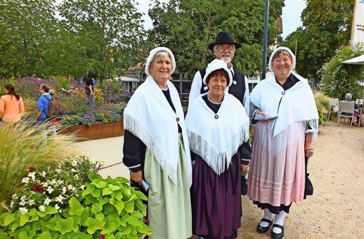 Waldenser aus Heimsheim und Perouse auf Gartenschau