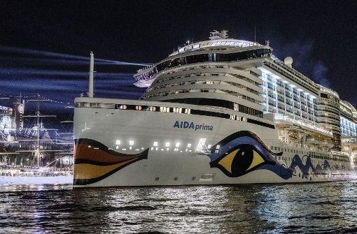 Sturmtief verletzt Passagiere auf Kreuzfahrtschiff