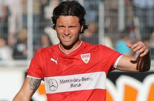 Fünf Wochen nach seinem doppelten Bänderriss im rechten Sprunggelenk will Verteidiger Tim Hoogland vom VfB Stuttgart Ende dieser Woche wieder ins Mannschaftstraining einsteigen.  Foto: Pressefoto Baumann