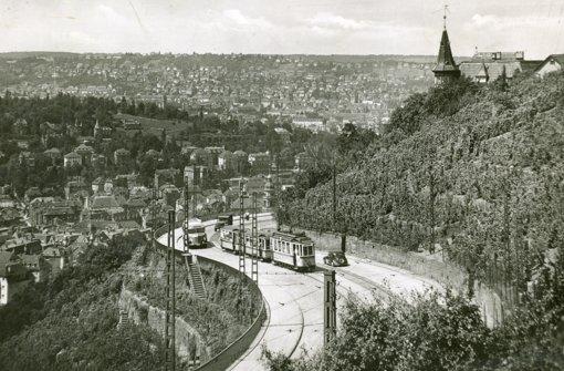 Straßenbahn mit herrlicher Aussicht