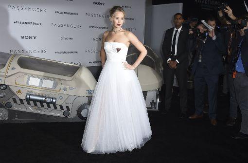 """Jennifer Lawrence spielt eine der Hauptrollen in """"Passengers"""". Foto: Invision"""