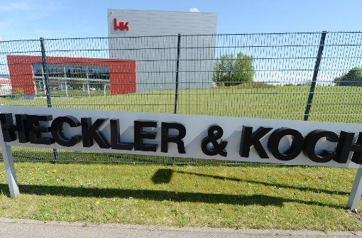 Heckler & Koch ist das wohl bekannteste Rüstungsunternehmen im Südwesten. Foto: dpa