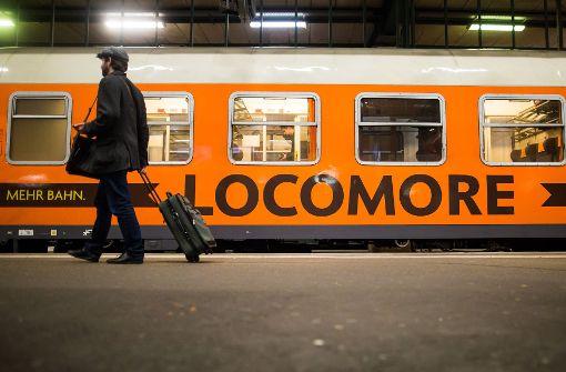 Locomore hat mit einer Reihe von Problemen zu kämpfen. Foto: dpa