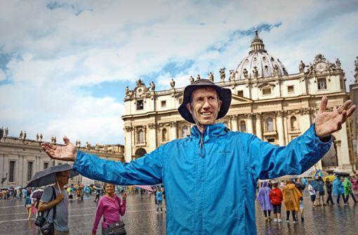 Evangelischer Pfarrer läuft nach Rom